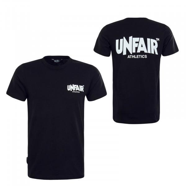 Herren T-Shirt Classic Black White