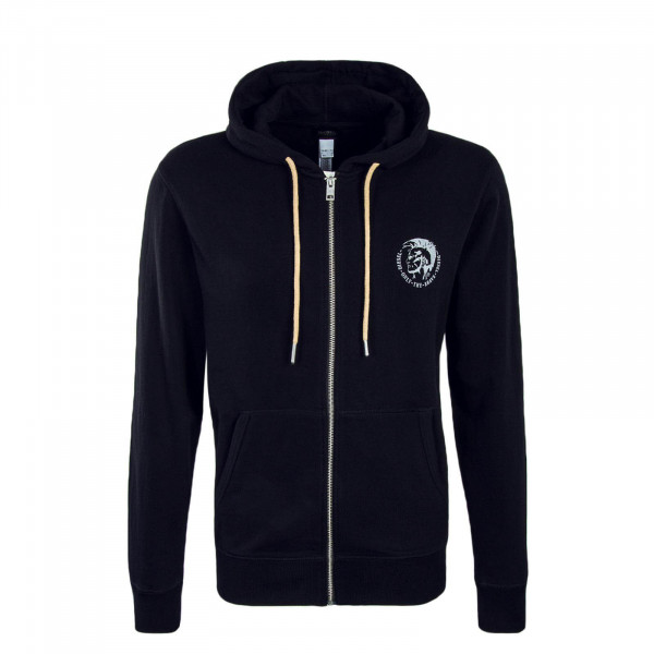 Diesel Sweatjkt Brandon Black