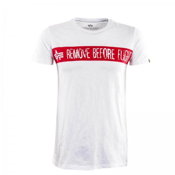 Alpha TS RBF White Red