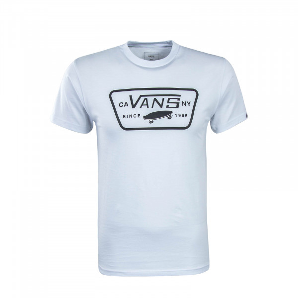 Vans TS Full Patch White Black
