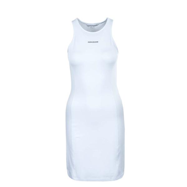Damen Kleid - Micro Branding Racer 6265 - Bright White