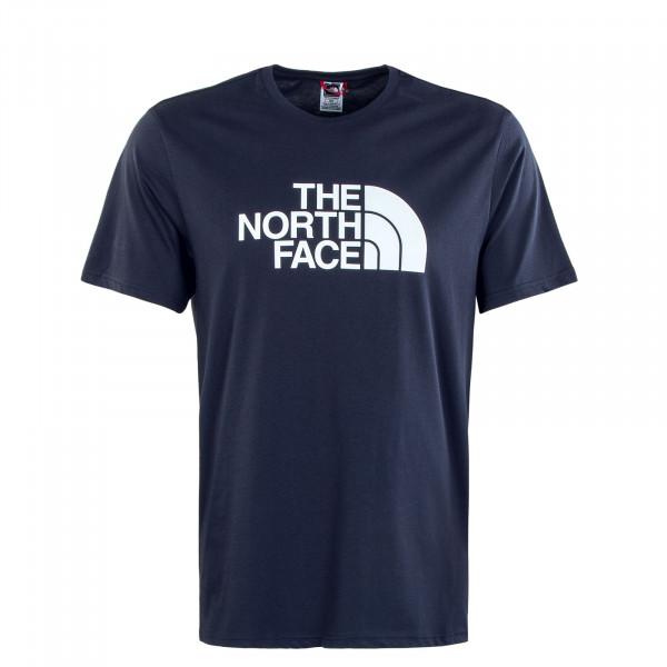 Herren T-Shirt - Easy Tee - Navy White