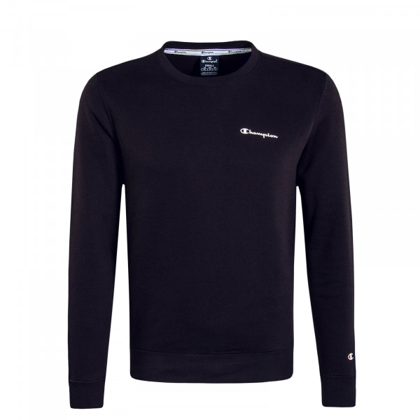 Herren Sweatshirt 213484 Black White