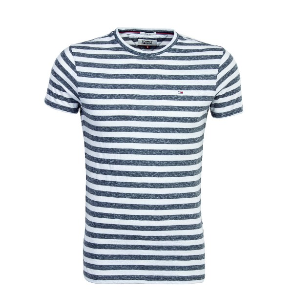 Tommy TS TJM Essential Stripe White Blk