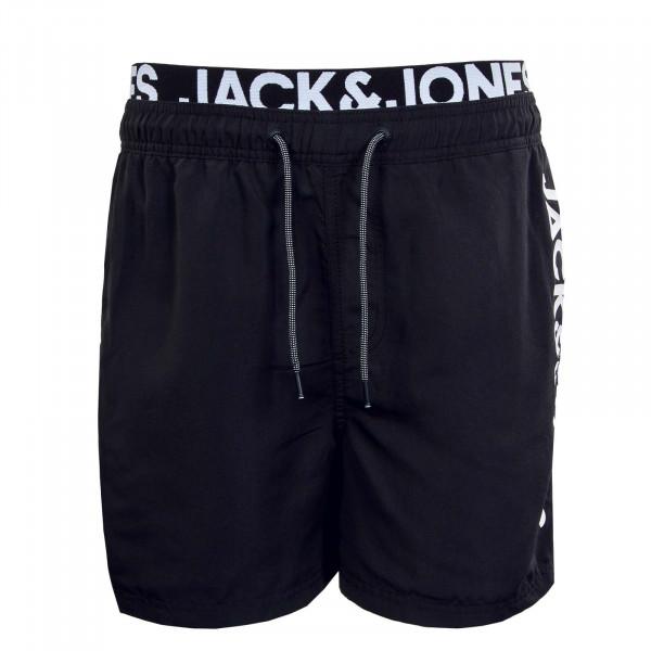 Herren Boardshort - Bali JJ  AKM DB Logo - Black