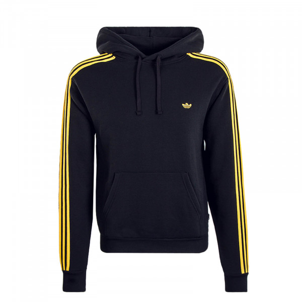 Herren Hoody 7325 Black Yellow