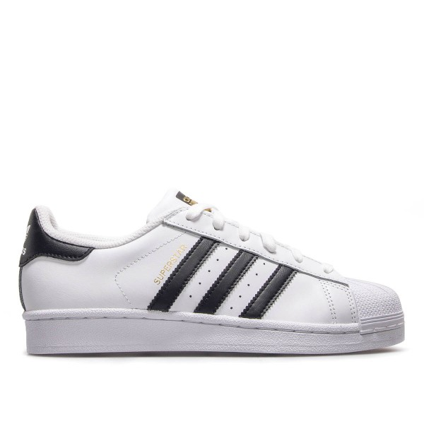 Adidas Wmn Superstar J White White Black