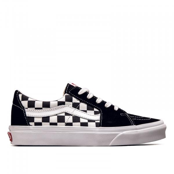 Unisex Sneaker SK8-Low Canvas Suede Black Checkerboard
