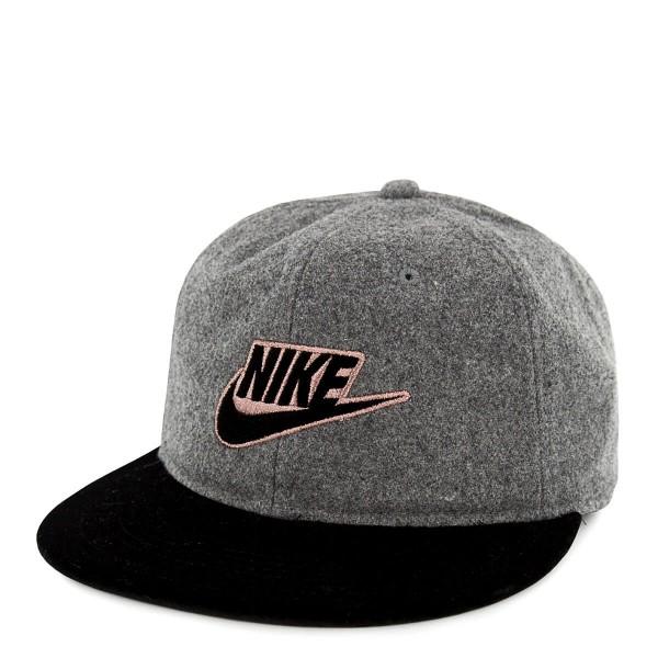 Nike Cap Rose Futura Grey Black
