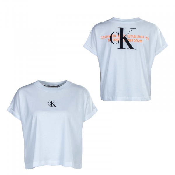 Damen T-Shirt - Urban Logo - White