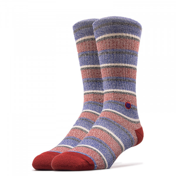 Socken Noosa Red Blue