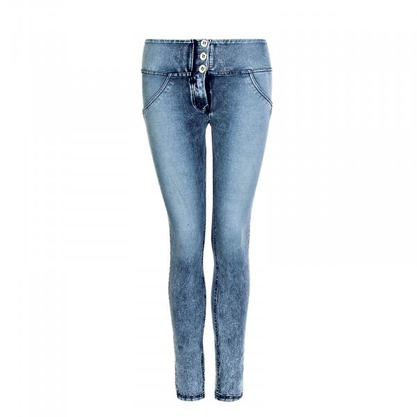 Damen Hose WR.UP® 1 MS007 J19B Pantalone Lungo - Mid Waist