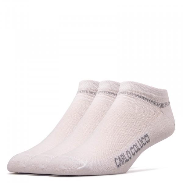 Socken Sneaker Amalfi White