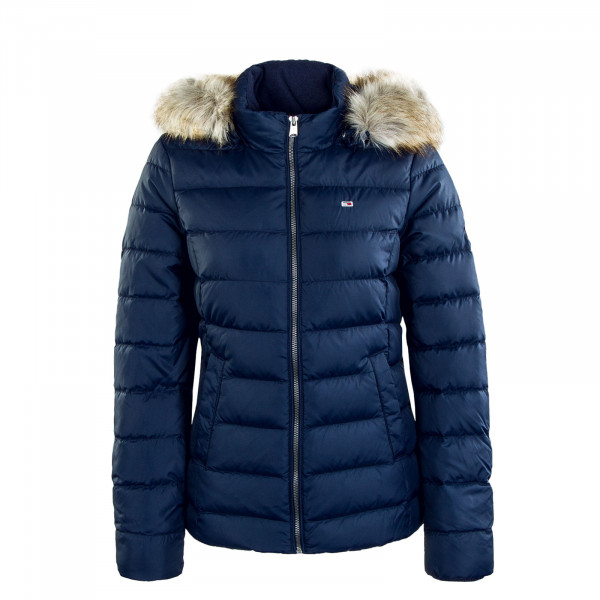 Damen Jacke Basic Hooded 8588 Twilight Navy