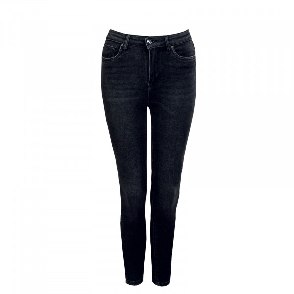 Damen Jeans - Mila Life High Waist Ankle - Black Denim