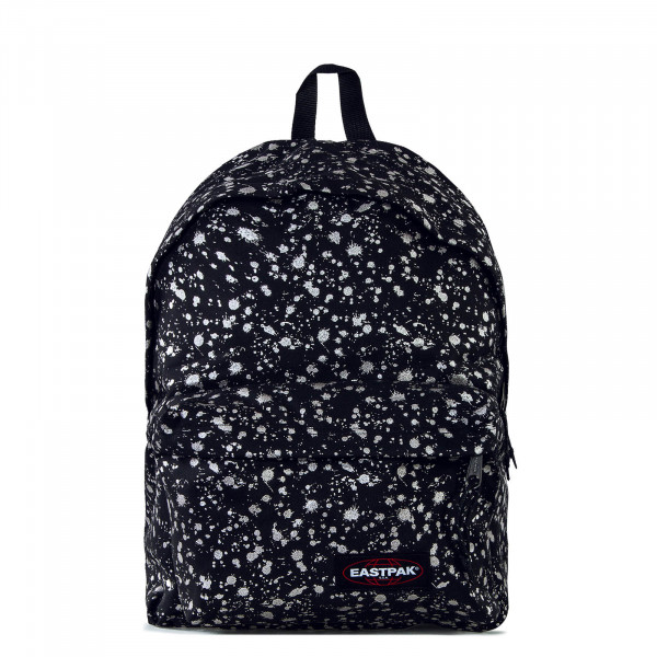 Backpack Padded Pak'r Black Silver