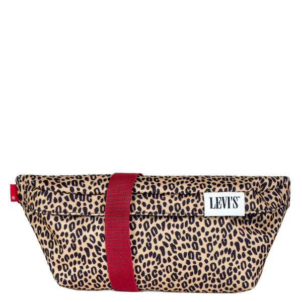Hip Bag Banana Sling Serif Lightt Brown