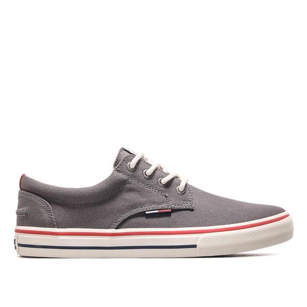 Tommy Sneaker Textile 001 Steel Grey