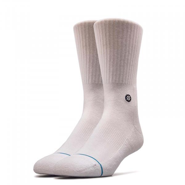 Socks Uncommon Solids Icon White