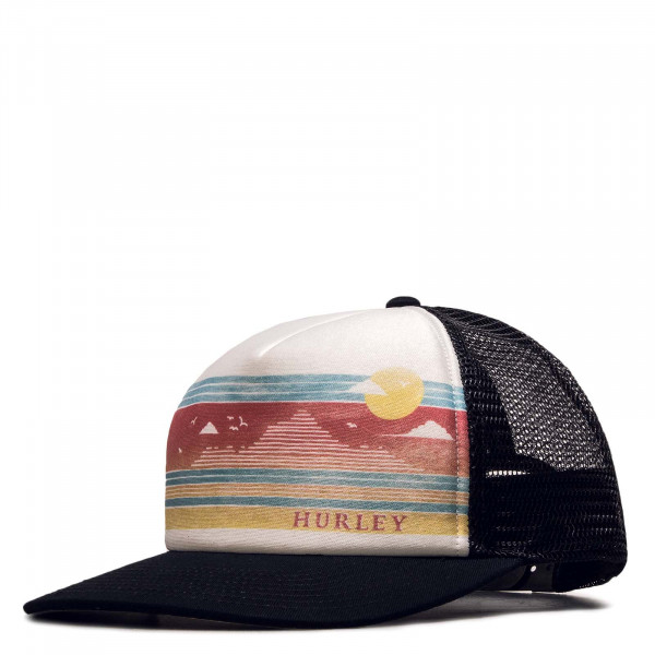 Trucker-Cap W Scenic Stripes Hat Black White