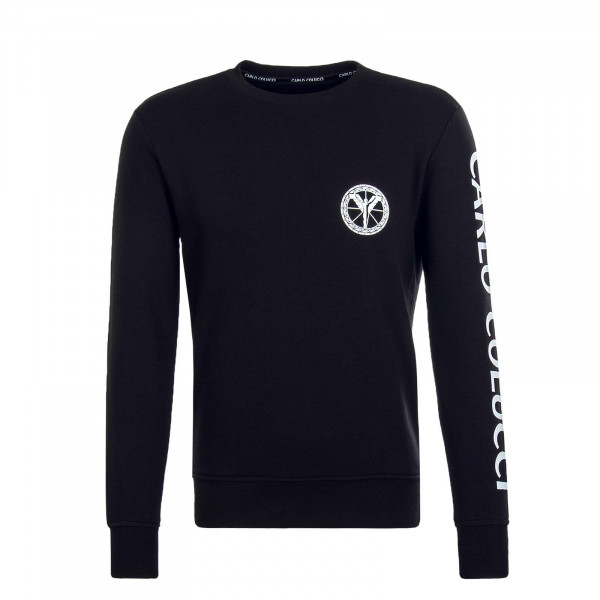 Herren Sweatshirt C3605 Black White