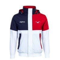 Clepto Jkt Nineso White Red Navy