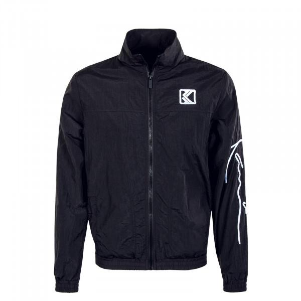 Herren Trainingsjacke - Signature Trackjacket - Black