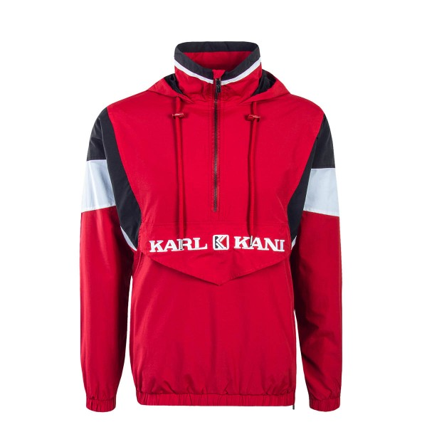 Kani Windbreaker Retro Block Red Black