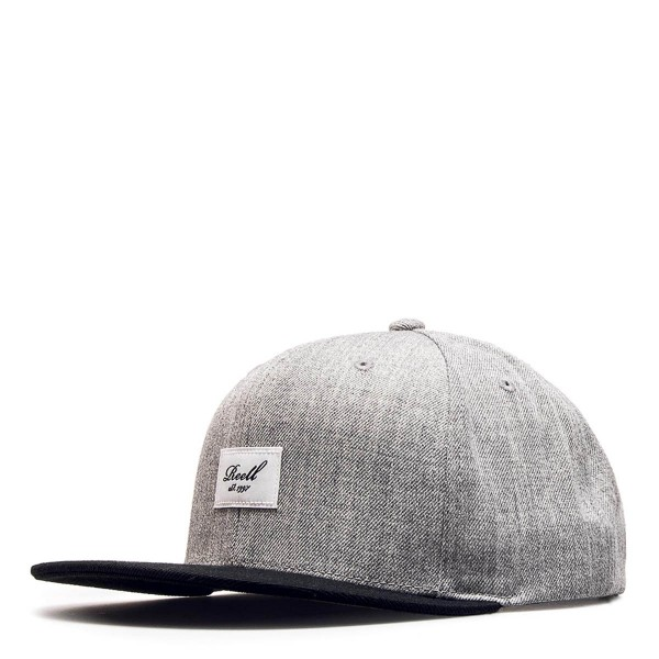 Reell Cap Pitchout 6Panel Grey Black