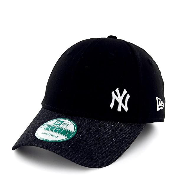 New Era Cap 9Forty Flaw Denim NY Black