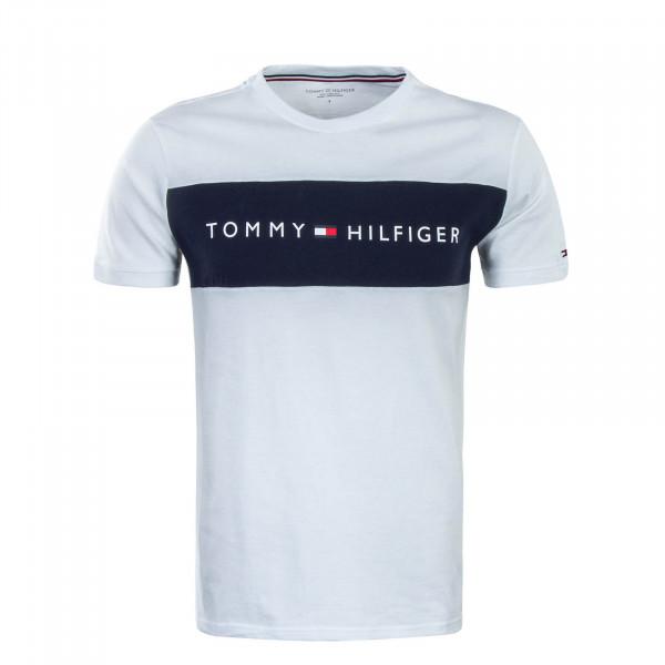 Herren T-Shirt 1170  White Navy