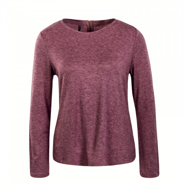 Damen Longsleeve Ashley Bordeaux Melange