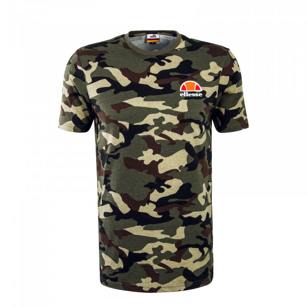 Herren T-Shirt Canaletto Olive Camouflage