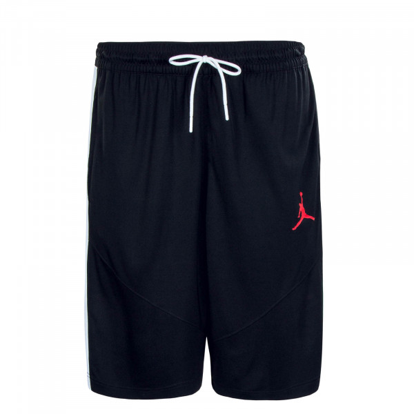 Herren Short Jumpman BBall Short Black Gymred White