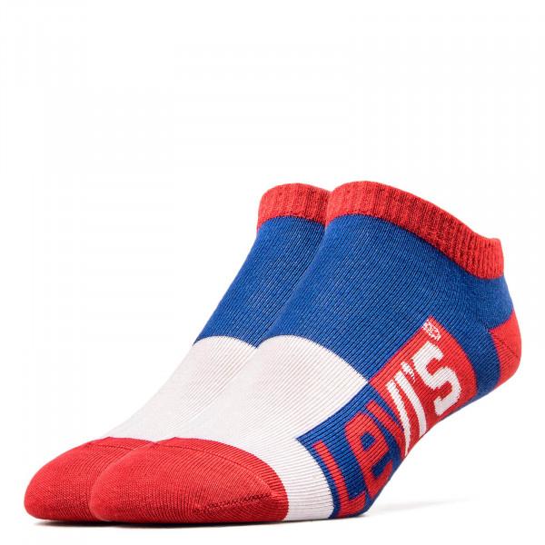 Levis Socks 168 Royal Red White
