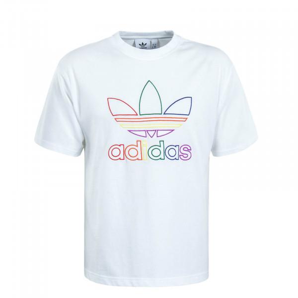 Herren T-Shirt Pride White Multi