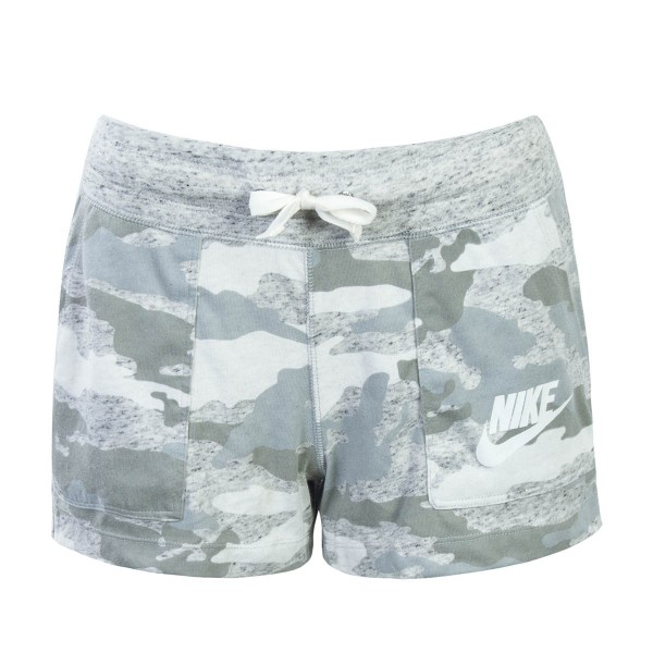 Nike Wmn Short NSW Gym Grey Camo