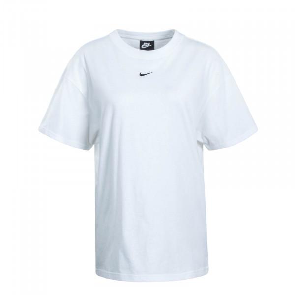 Damen T-Shirt NSW Essential White Black