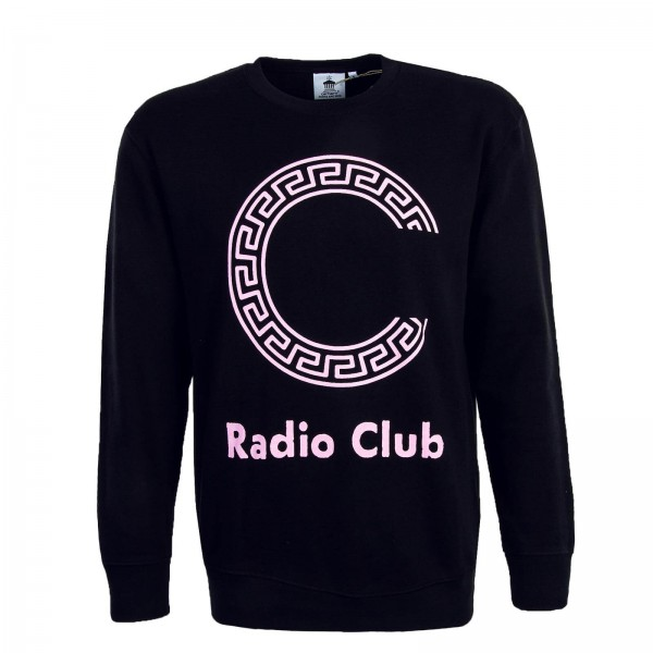 Carhartt Sweat Radio Club Black Pink