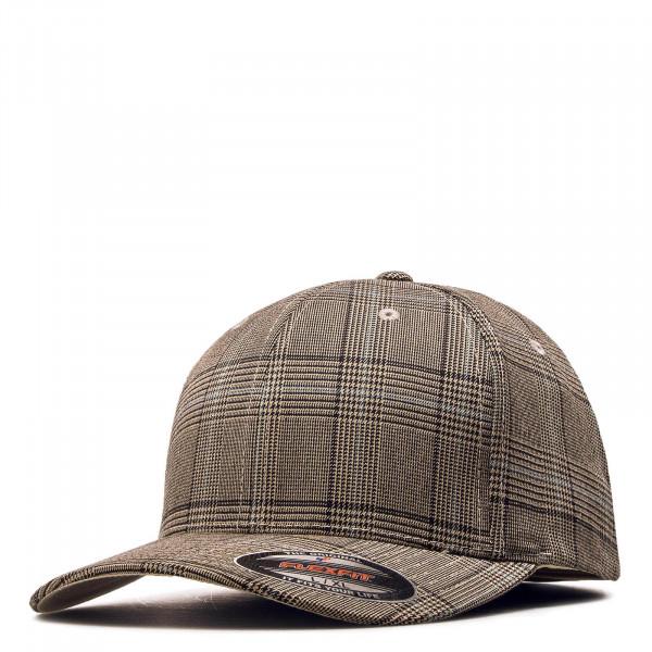 Cap Glen Check 6196 Brown Khaki