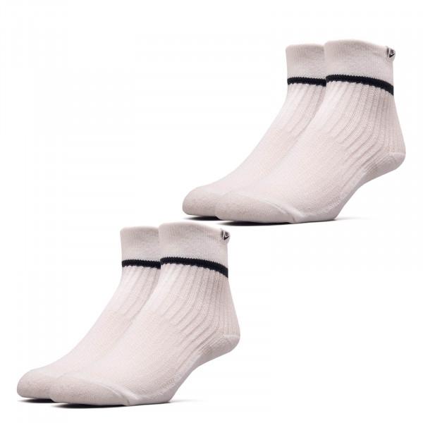 Sneaker Socken 2er Pack Essential Ankle Adult White