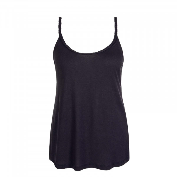 Damen Top Carrie S/L Black