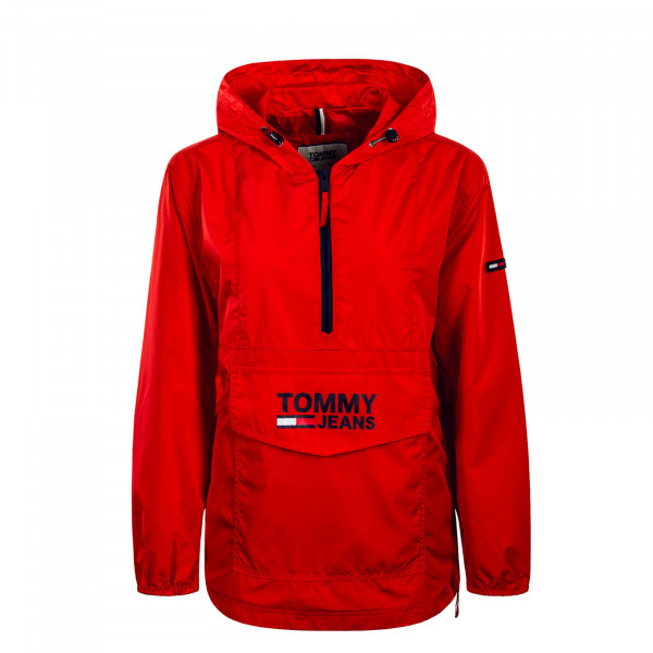 Damen Windrunner Popover Red