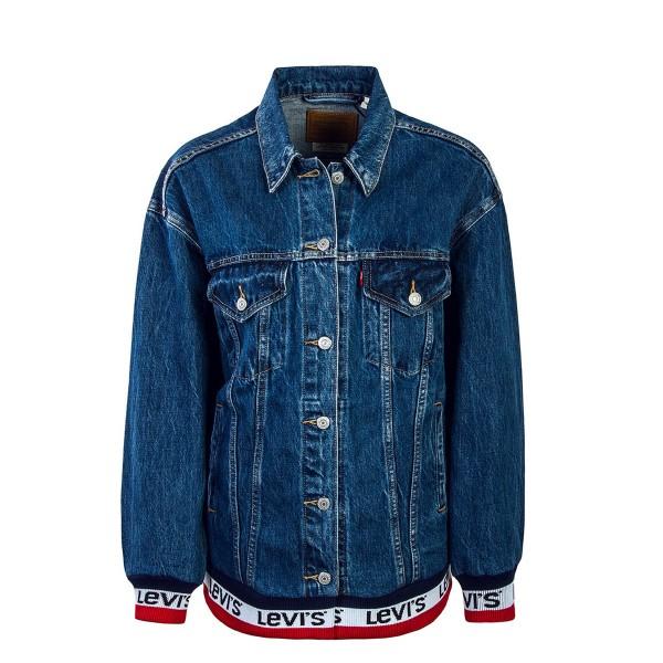Levis Wmn Jeans Jkt Baggy Good Blue