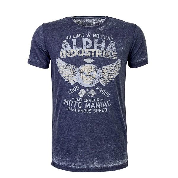 Alpha TS Hellracer Blue  Melange