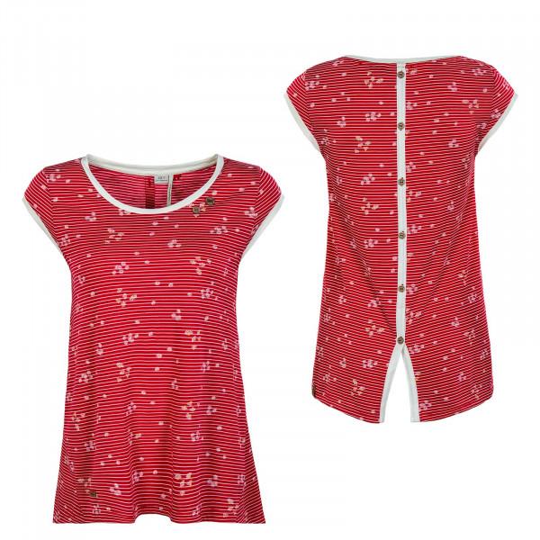 Damen T-Shirt - Dominica - Red