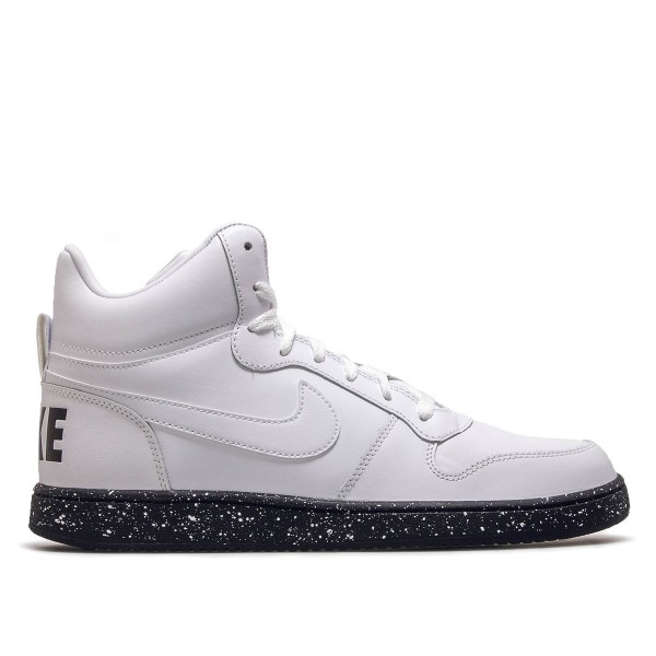 Nike Court Borough Mid White Black