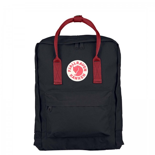 Fjäll Räven Backpack Kanken Black Red