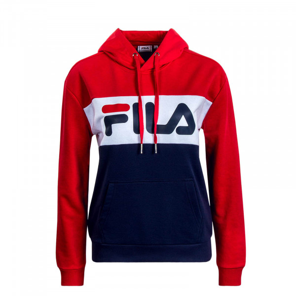 Damen Hoody Lori Navy Red White