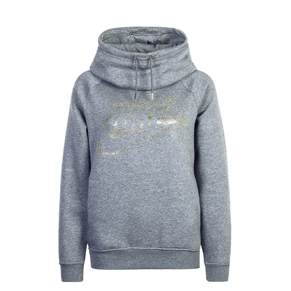 Nike Wmn Hoody Rally Grey Gold